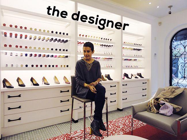 Tanya Heath is an designer of interchangble heels