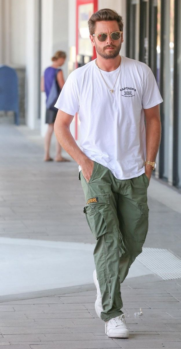 Cargo pants for men casual style