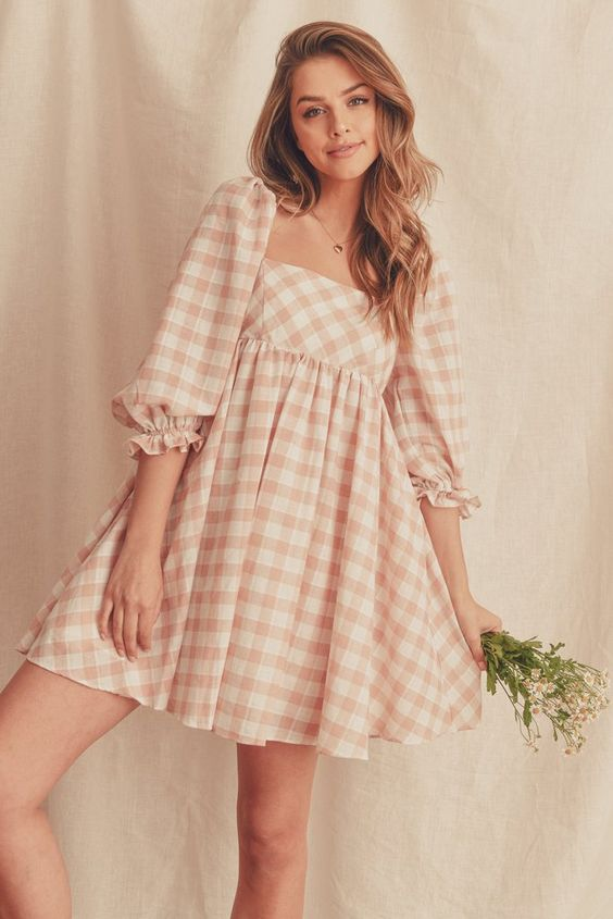 baby doll dress for cute spring outfits
