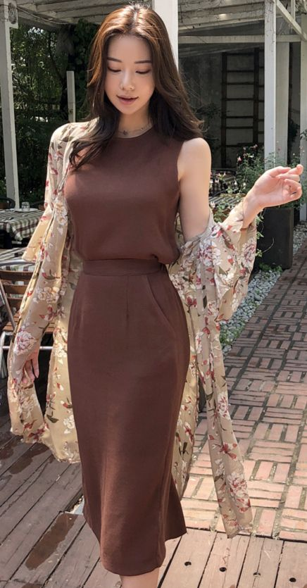 Chiffon robe for summer
