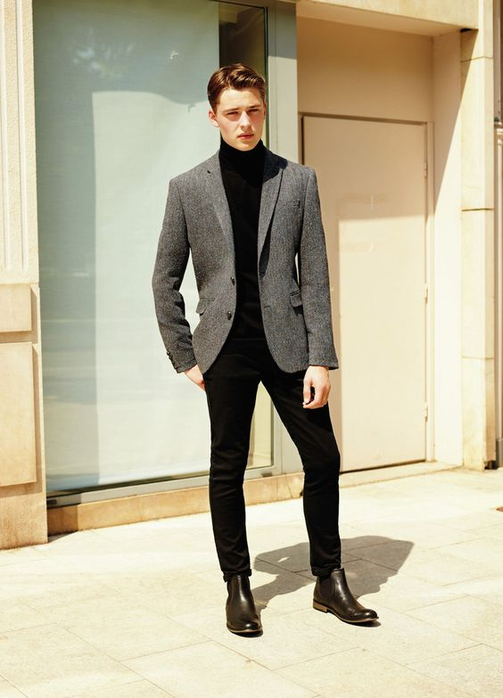 presentable masculine outfit