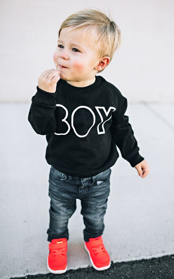 adorable toddler outfits with sweatshirt