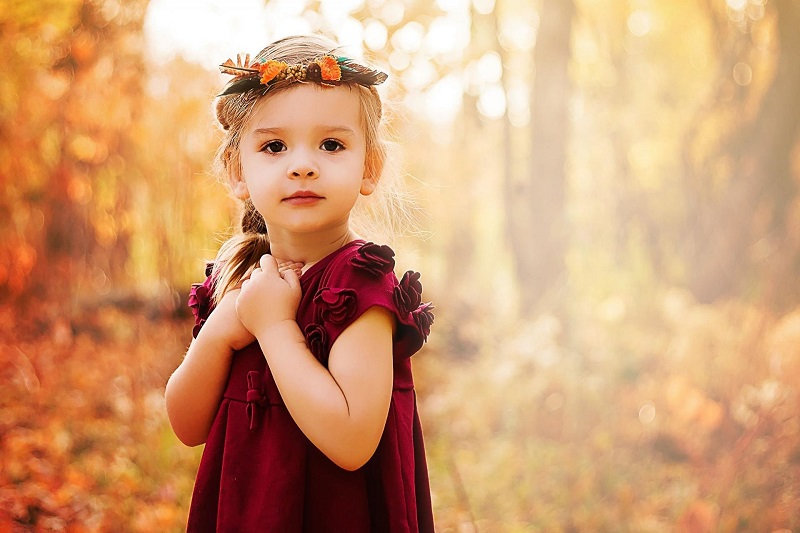 fashionable and cute little girl clothes