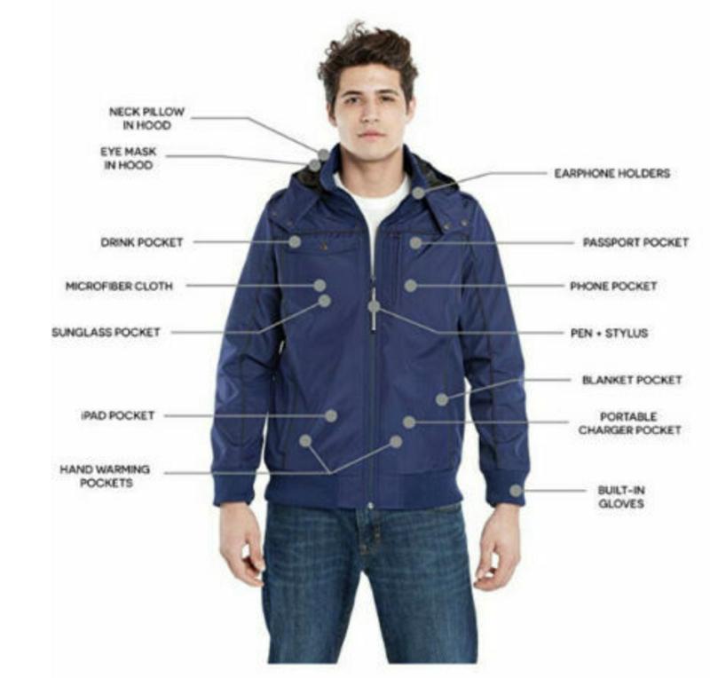 14 benefits by having multipurpose travel jacket