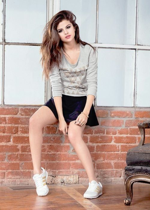 girly and sporty look