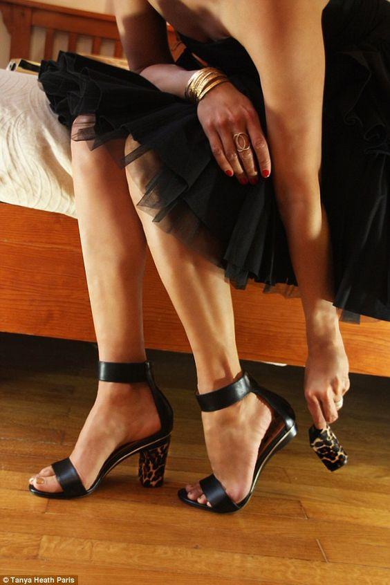 interchangeable heels design