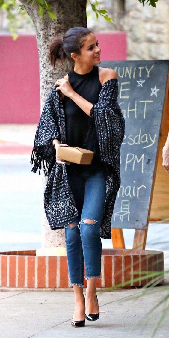 Kimono for street style ideas