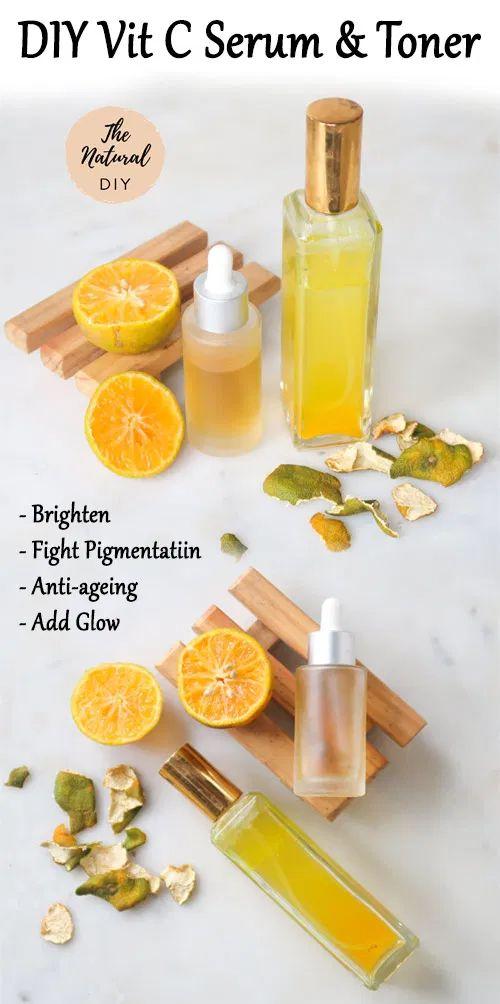 Vitamin C serum for summer skincare routine