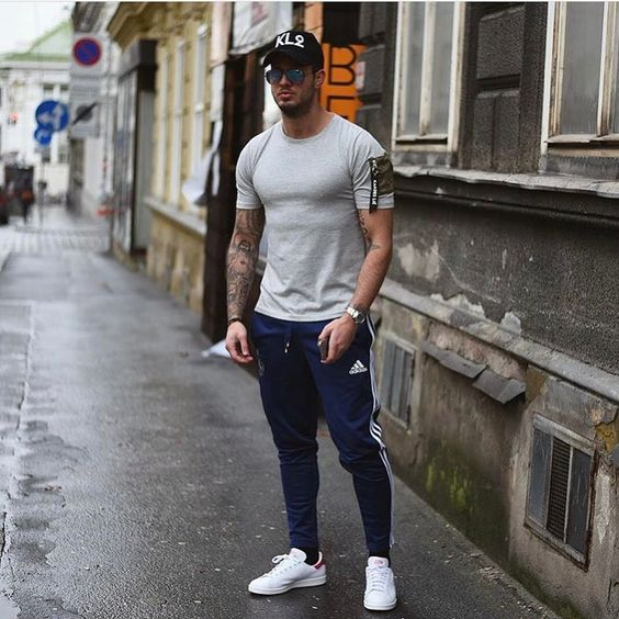 men casual sporty outfits