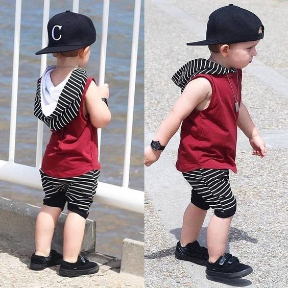 sporty look outfits for toddlers boys