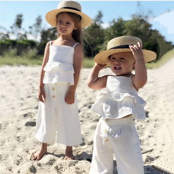 summer outfits for little girl