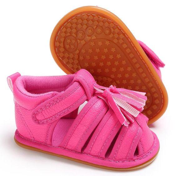 rubber base sandals for toddler