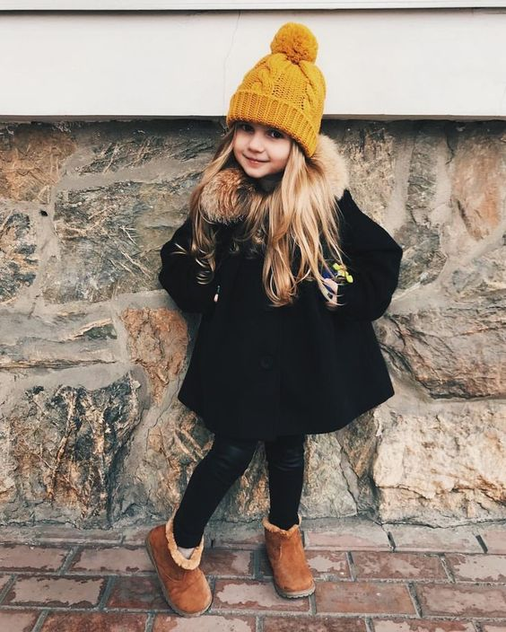 winter outfits for a little girl