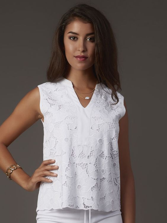 Balinese white lace