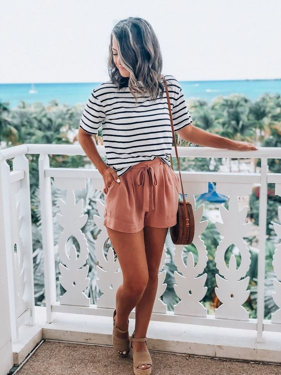 casual shorts for summer