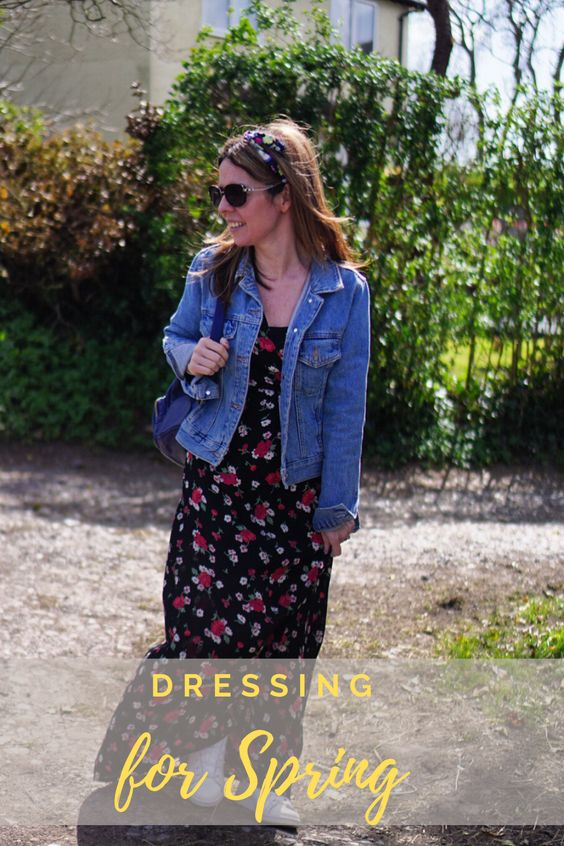 denim jacket for styling spring vacation