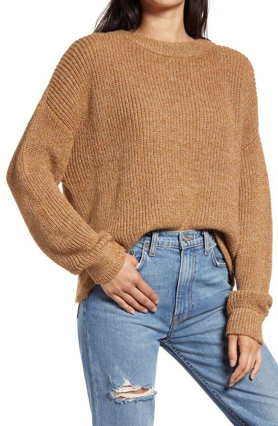 wardrobe checklist crew neck sweater