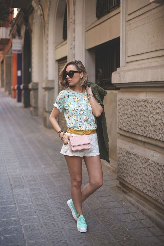 floral tee for spring