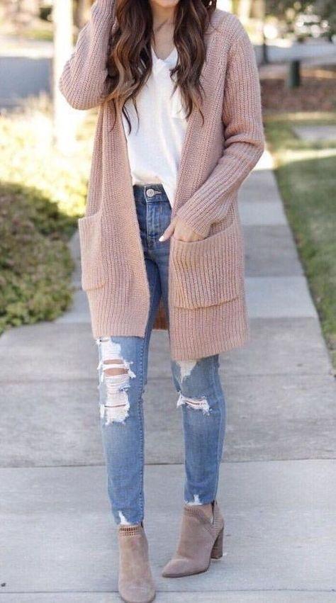 knitted cardigan for a wardrobe checklist