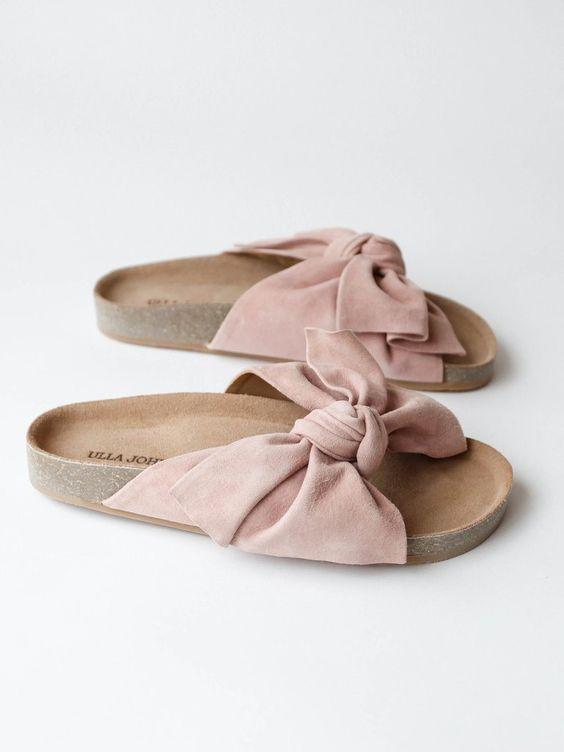 cute slides spring footwear ideas