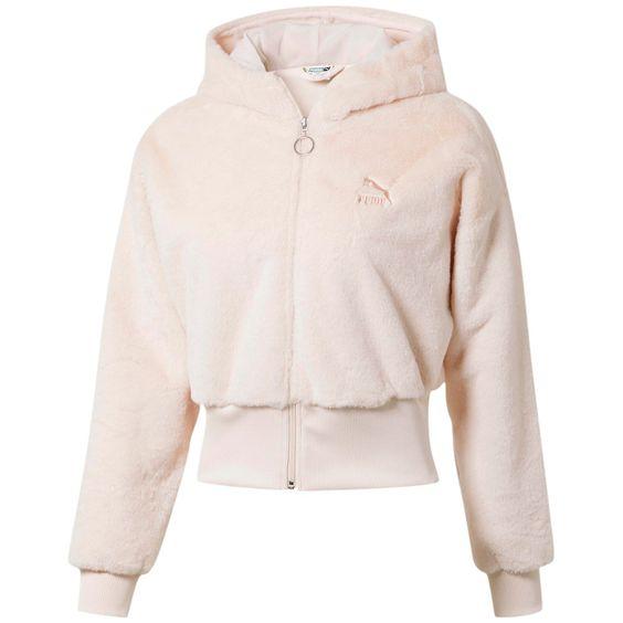 sporty fleece jacket