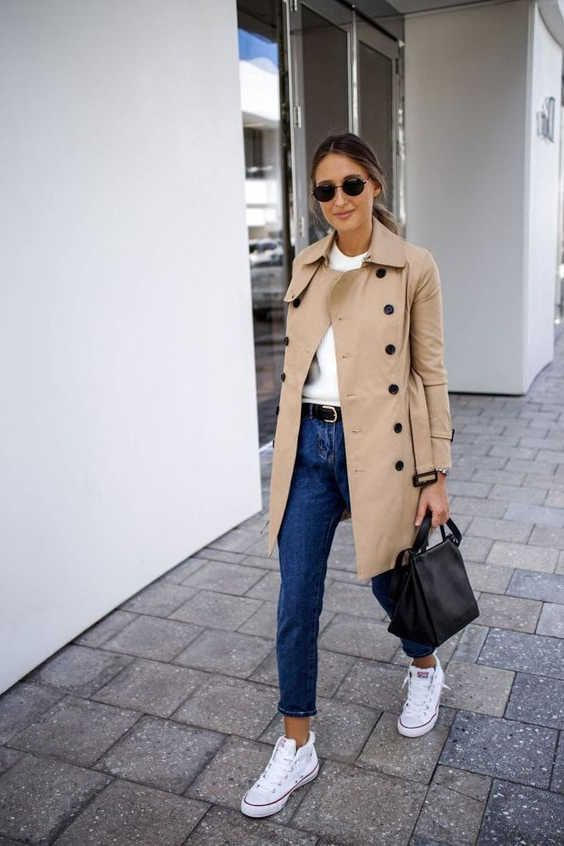 trench coat for the spring outfit