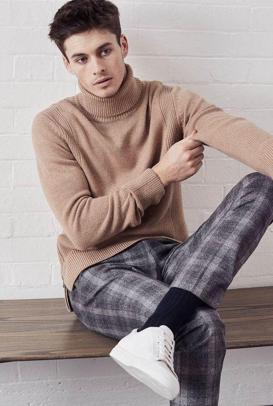 men's knitwear to rock casual style