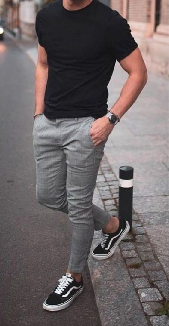 casual tee for men