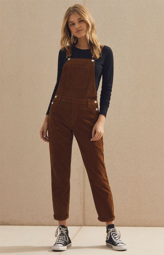 styling corduroy overall