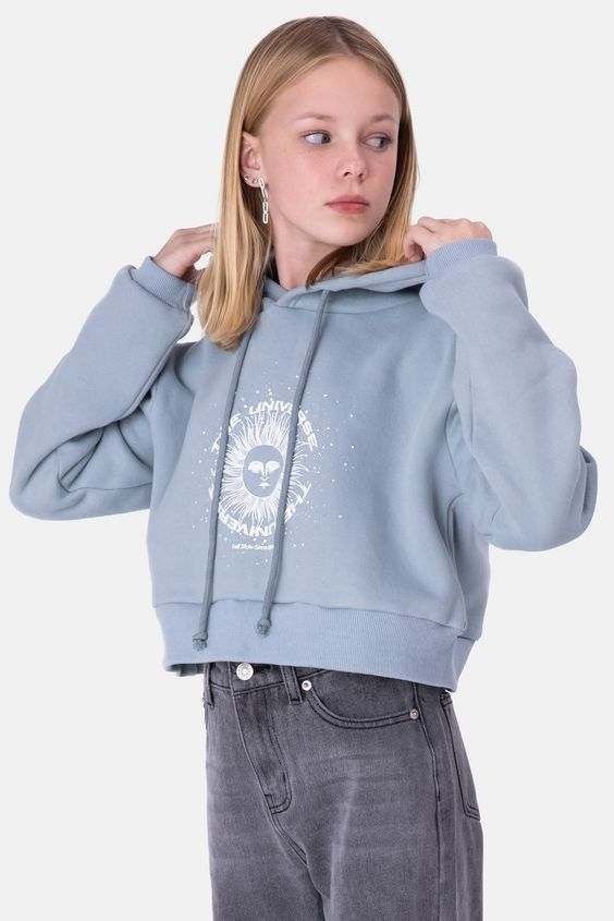 cropped hoodie for girls