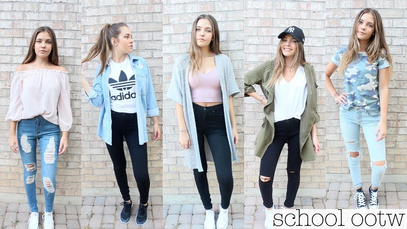back to school outfit ideas for teenage girls