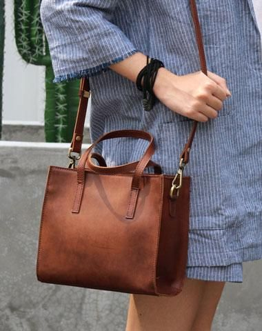 leather bag for spring