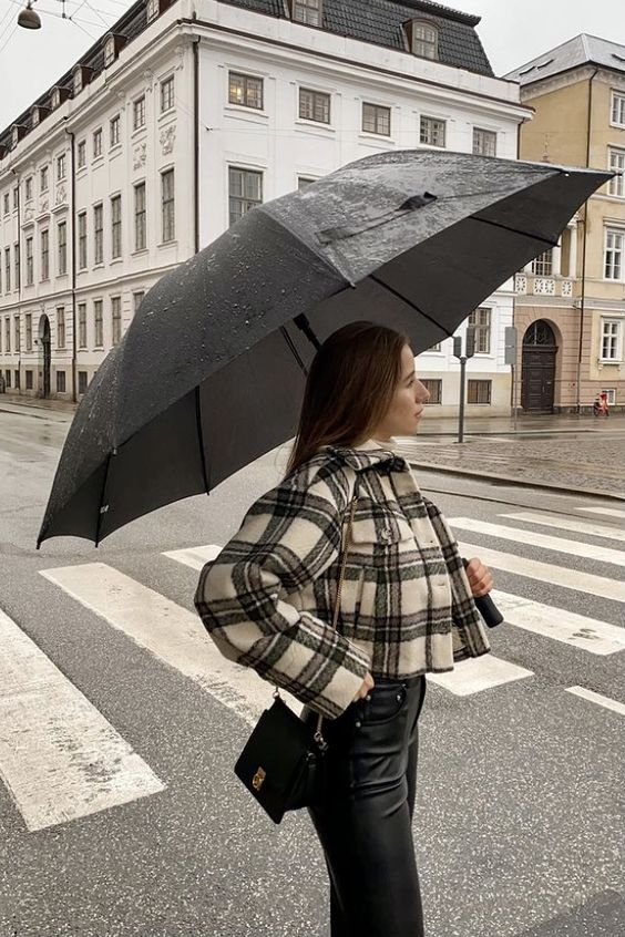 chic rainy day outfit ideas