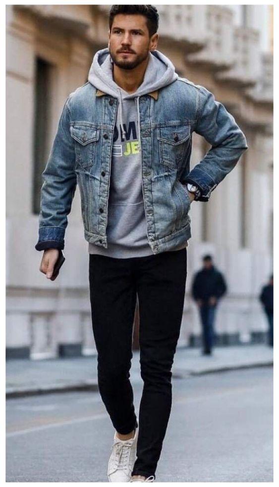 men's denim jacket