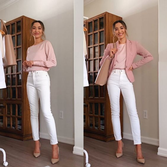 pastel color outfits for spring