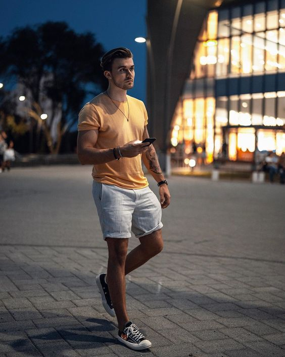 men's summer casual outfit
