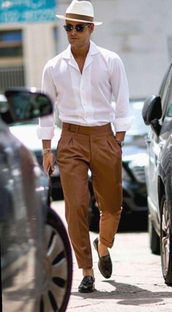 trouser men's essential pants