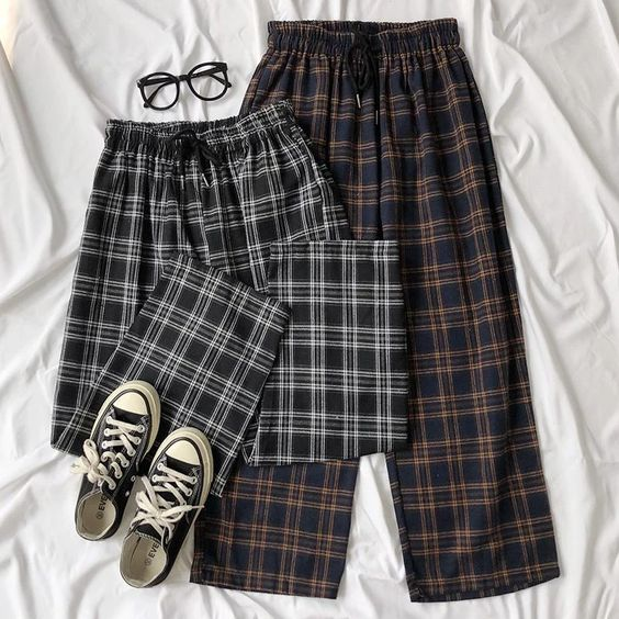 woolen loose pants for a casual style
