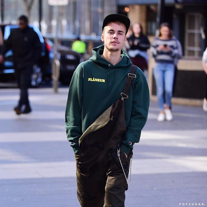 best Justin Bieber streetwear and underrated clothing style