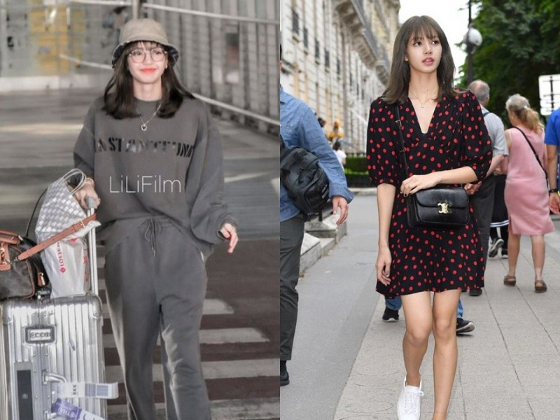 low-key Lisa Blackpink street styles