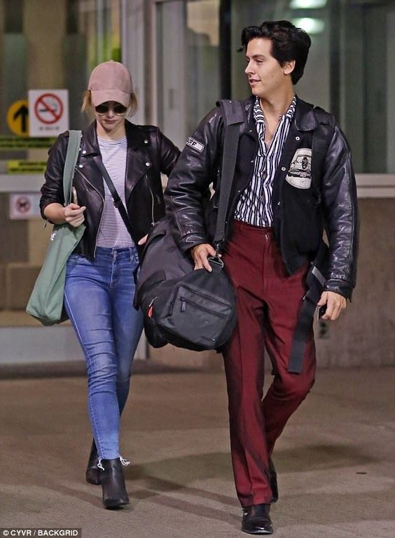 Cole Sprouse best airport look