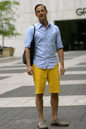 colorful in casual outfit idea