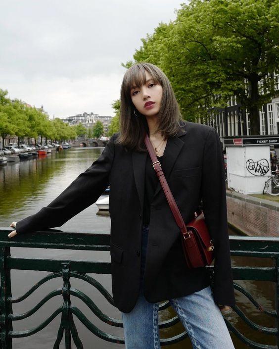 Lisa Blackpink street style