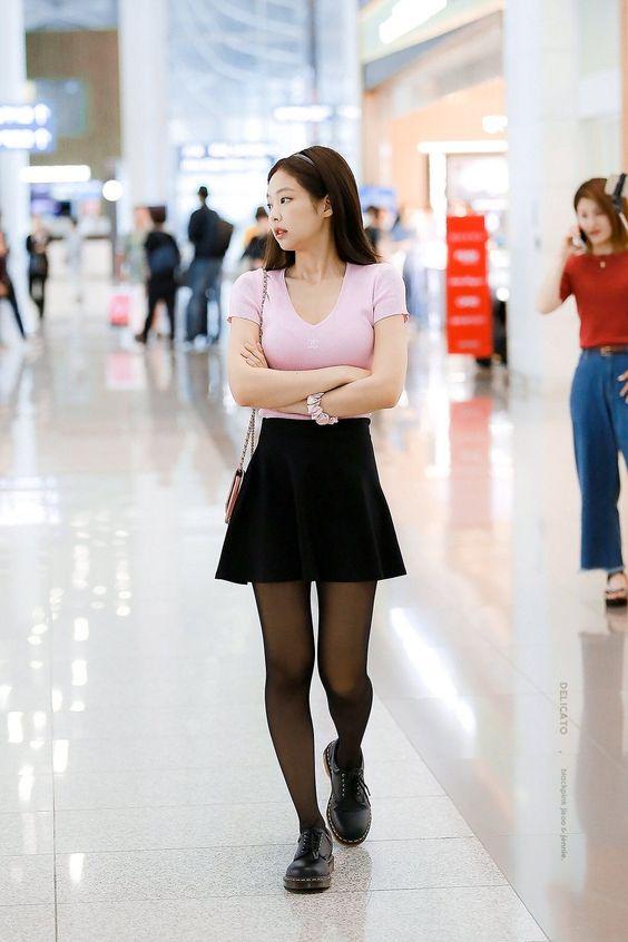 Jennie Blackpink cute style