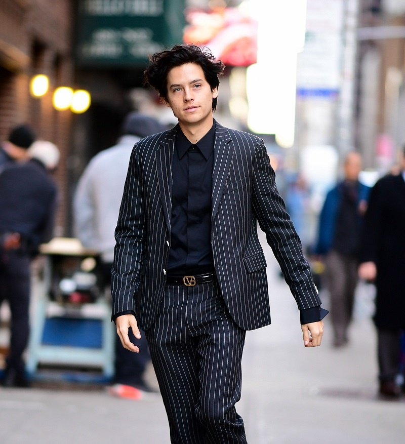 cole sprouse street style