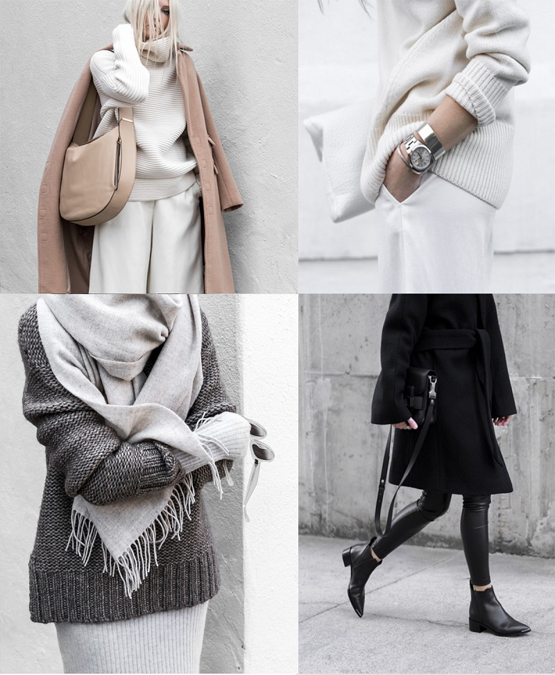 classic minimalist chic aesthetic outfit ideas