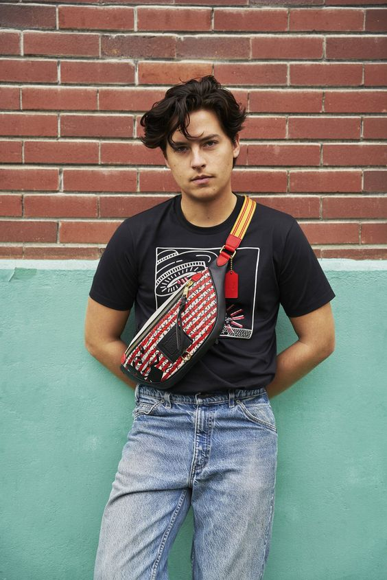 chic cole sprouse street style