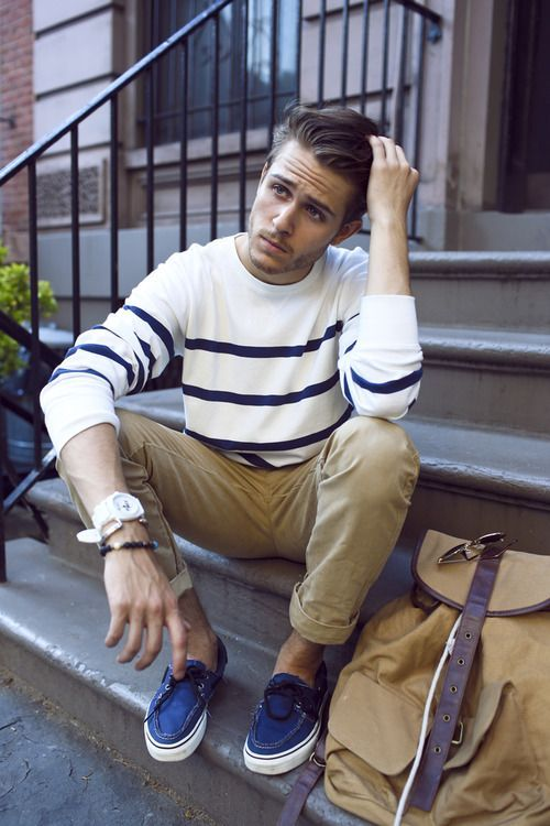 cute transitional outfit for men