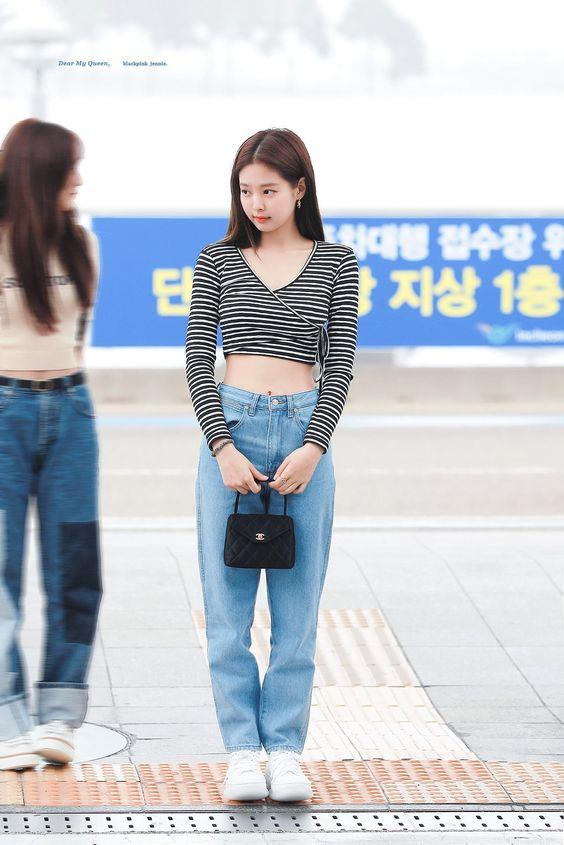 Jennie blackpink simple street style