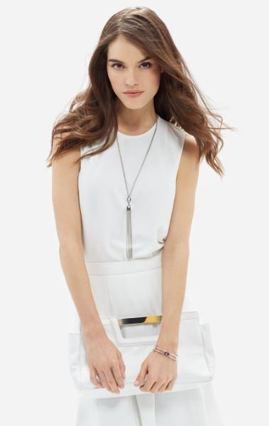 sleeveless shell top workwear idea for women